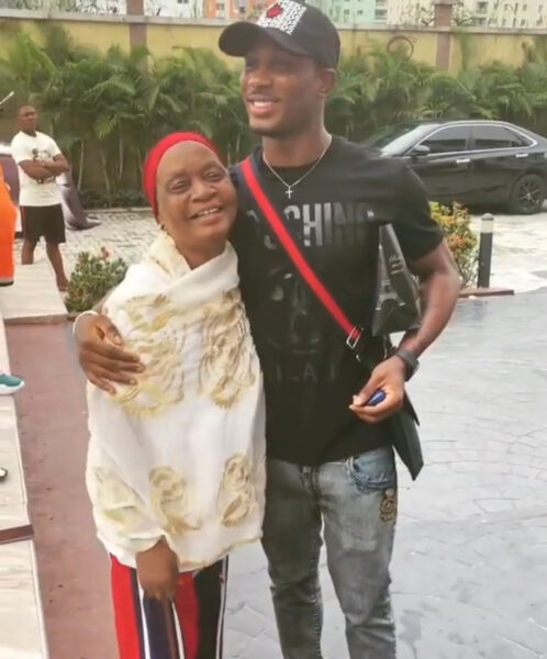 Adorable video of footballer Jude Ighalo and his mother