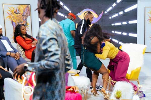 BBNaija reunion Kaisha Lucy engage in physical fight
