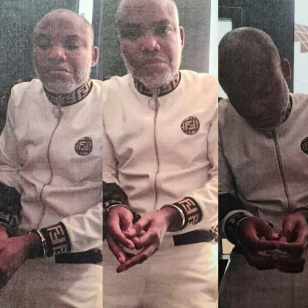 Breaking FG arrests IPOB leader Nnamdi Kanu photos