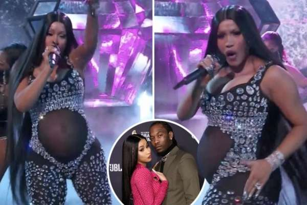 Cardi B expecting her second child with Offset