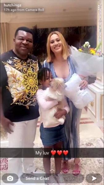 Caroline Danjuma and her ex husband Musa Danjuma get cozy