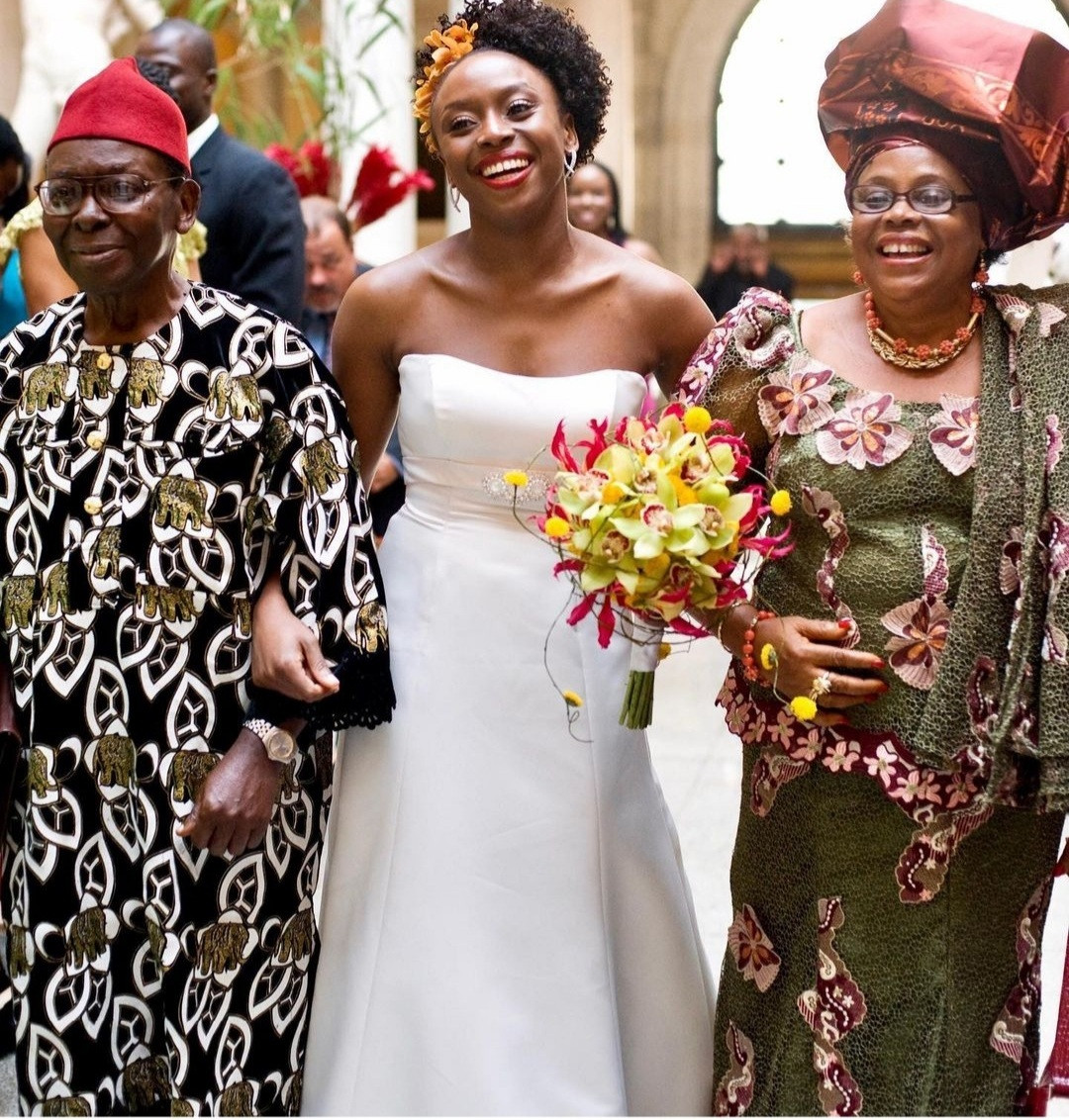 Chimamanda Adichie shares photos from her wedding as she reveals how she broke with convention to inspire young womenmen