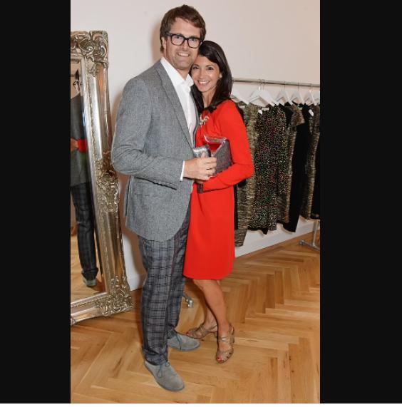 Coladangelo and her millionaire entrepreneur husband Oliver Tress 54