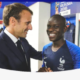 France president Emmanuel Macron backs Chelsea star NGolo Kante for Ballon dOr