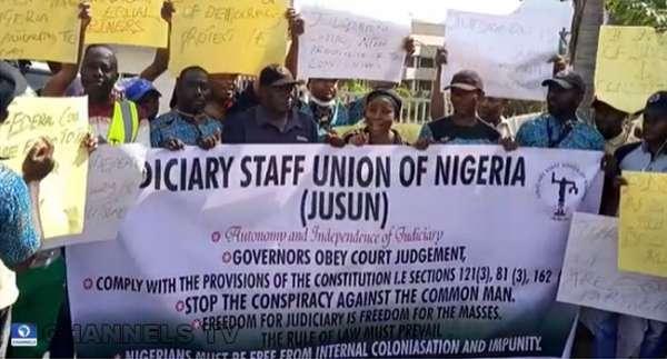 Judiciary workers
