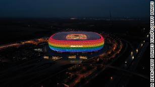 LGBTQ UEFA rejects request to light up Allianz Arena stadium in rainbow colors for Euro 2020 game