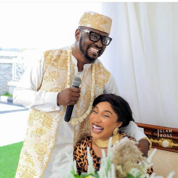 Lovely photos of actress Tonto Dikeh and her new man Prince Kpokpogri at his birthday party
