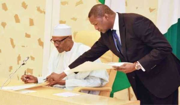 Malami denies advising Buhari to suspend Constitution