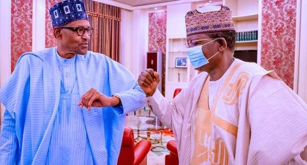 Matawalle and Buhari