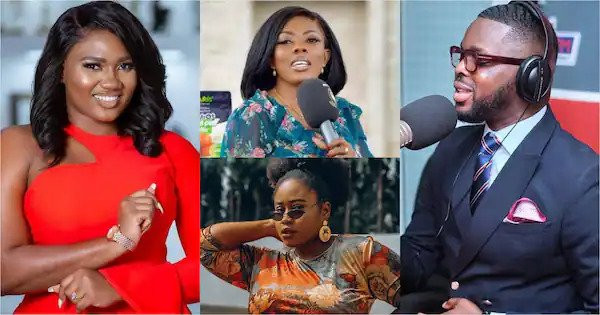 Media personality Abena Korkor calls out colleague Kojo Yankson for allegedly sleeping with her and two other celebrities at the same time
