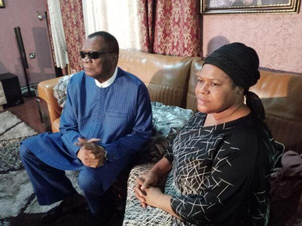 Prophet Abiara pays condolence visits to late T.B Joshuas widow photos