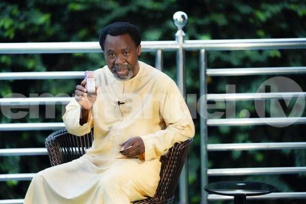 Prophet TB Joshua declares fasting prayer for Nigeria