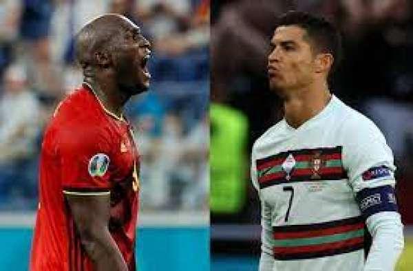 Ronaldo Lukaku battle in Belgium Portugal Euro 2020 clash