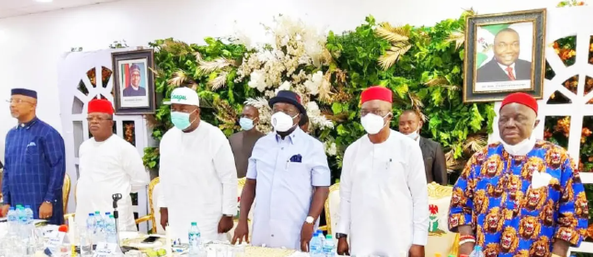 South East Governors and leaders