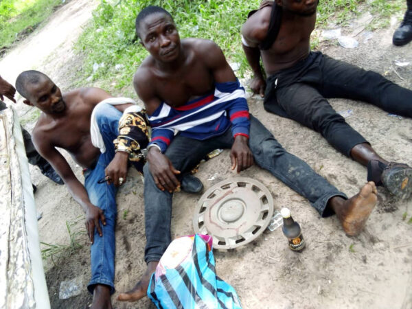 Suspected ritualists apprehended in Delta photo