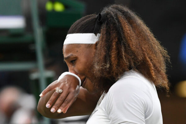 Tearful Serena Williams makes early exit from Wimbledon with injury photos