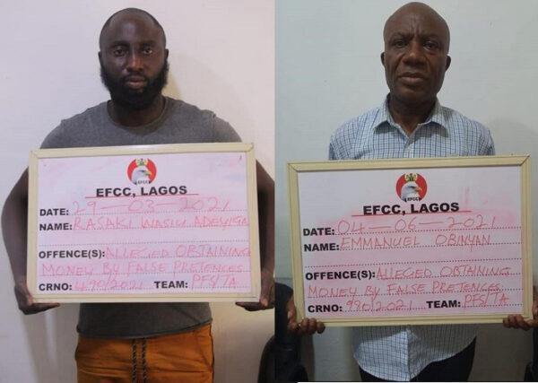 Two men arrested for alleged Multi million Naira fraud