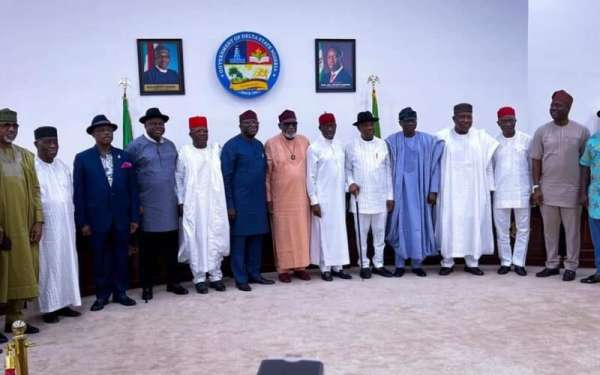17 Southern Governors set to meet in Lagos tomorrow