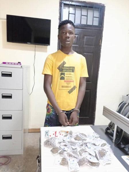 17 year old illicit drug dealer arrested in Delta