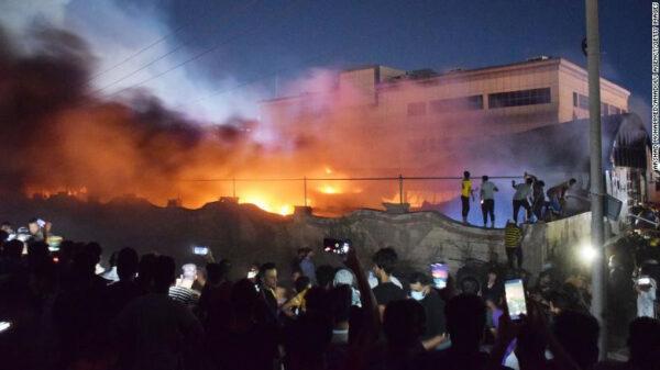 41 killed in fire at Iraqi hospital treating Covid-19 patients (photos)41 killed in fire at Iraqi hospital treating Covid-19 patients (photos)