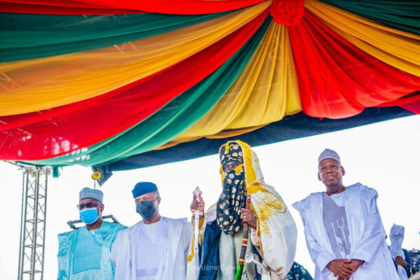 Another Emir of Kano enthroned months after Sanusis det