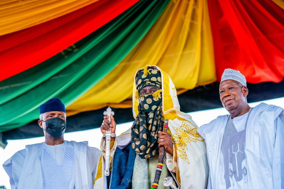 Another Emir of Kano enthroned months after Sanusis dethronement photos