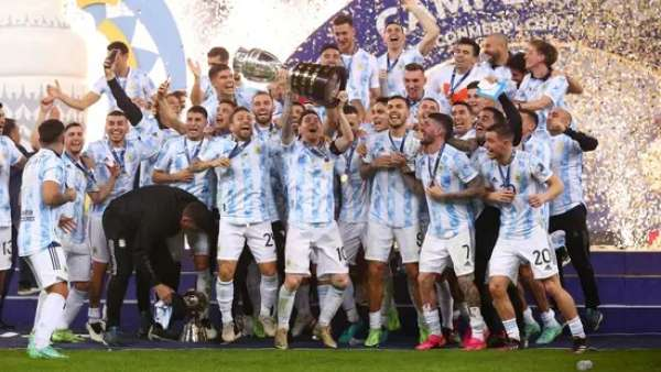Argentina beat Brazil to win Copa America End 28 year trophy drought