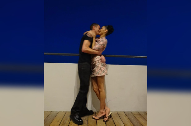 Bella Hadid kisses rumored boyfriend Marc Kalman in Instagram photo