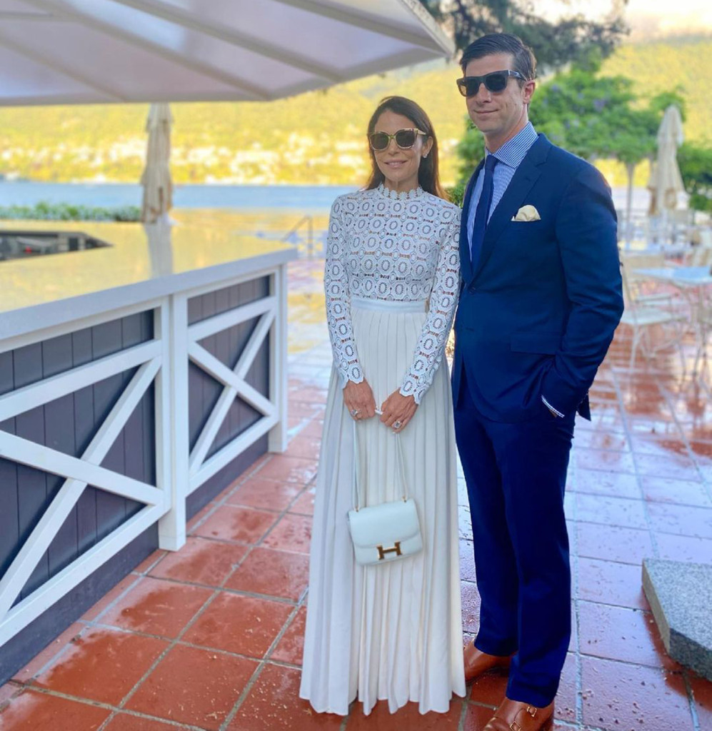 Bethenny Frankel and fiance Paul Bernon vacation in Italy on Fourth of July