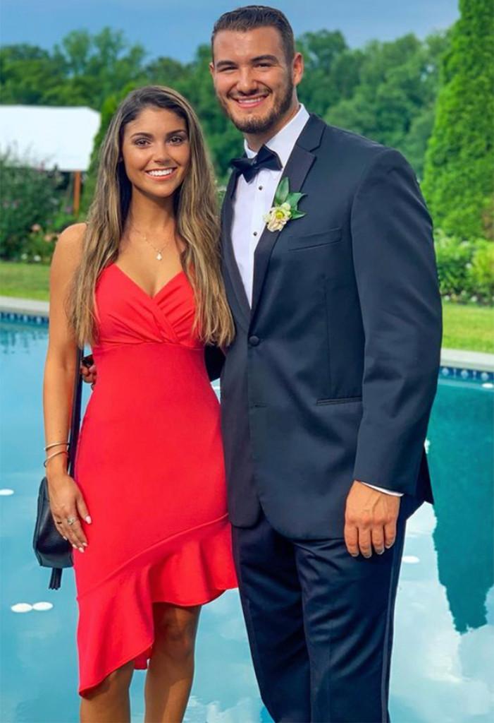 Buffalo Bills QB Mitch Trubisky marries fiancee Hillary Gallagher