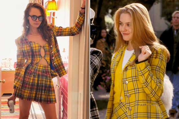 Cara Delevingne channels Cher Horowitz in 'Clueless esque look