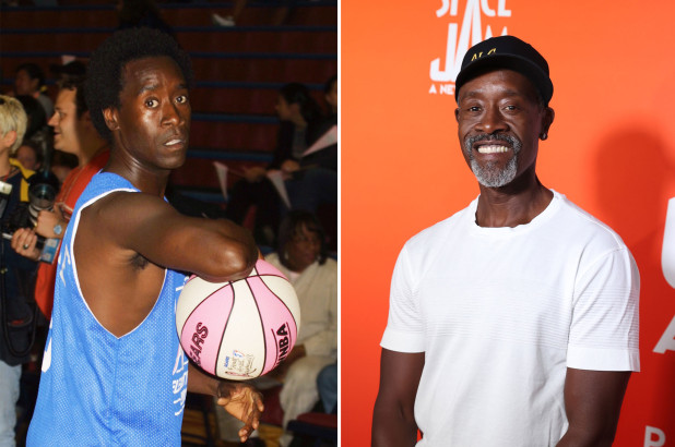 Don Cheadle recalls being 'great at basketball until his 'knee went out