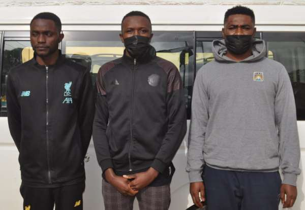 Facebook scammers 3 Nigerians jailed after posing as American Spanish soldiers