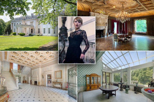 Fairy tale mansion featured in Taylor Swifts 'Blank Space up for auction