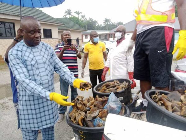 Four arrested in Edo for selling donkey meat