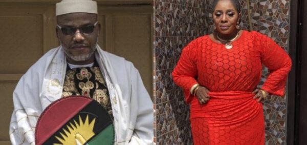 Free Nnamdi Kanu now to avoid had I know Actress Rita Edochie says