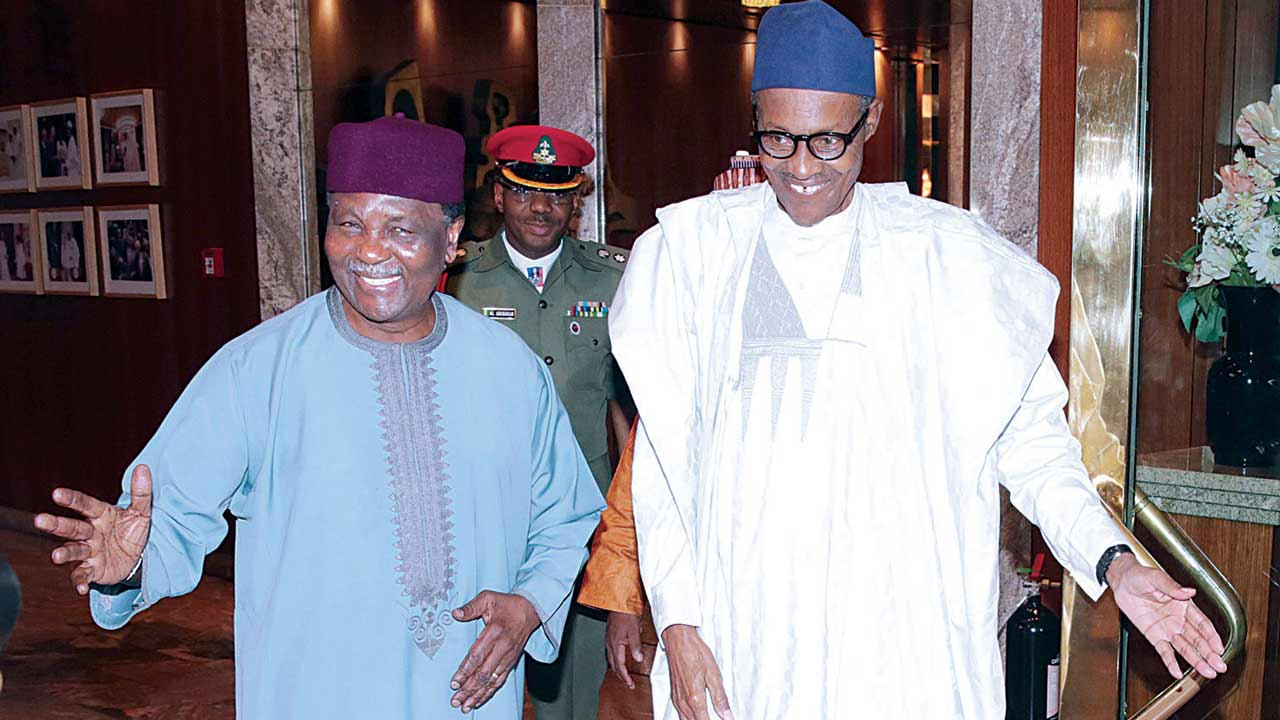 Gowon encourage Nigerians pray for President Buhari