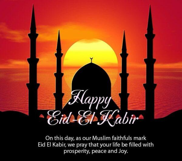 Happy Eid el Kabir