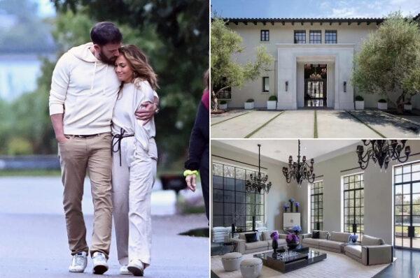 Inside the wild 65M mansion Jennifer Lopez and Ben Affleck just toured