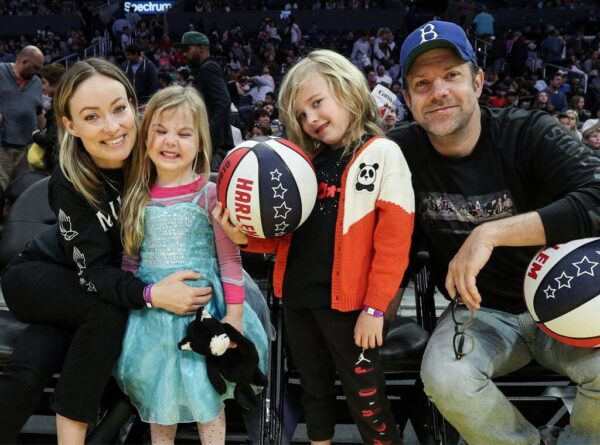 Jason Sudeikis and His Kids Are Quite the Catch