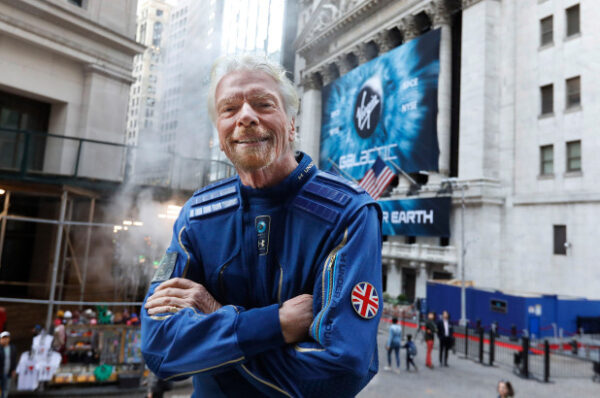 Jeff Bezos offers well wishes to Richard Branson ahead of space launch