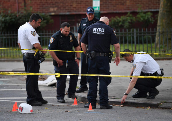 July 10 2021 NYPD cop shot with BB gun copy 2