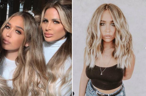 Kim Zolciaks daughter Ariana denies tummy tuck admits to lip fillers