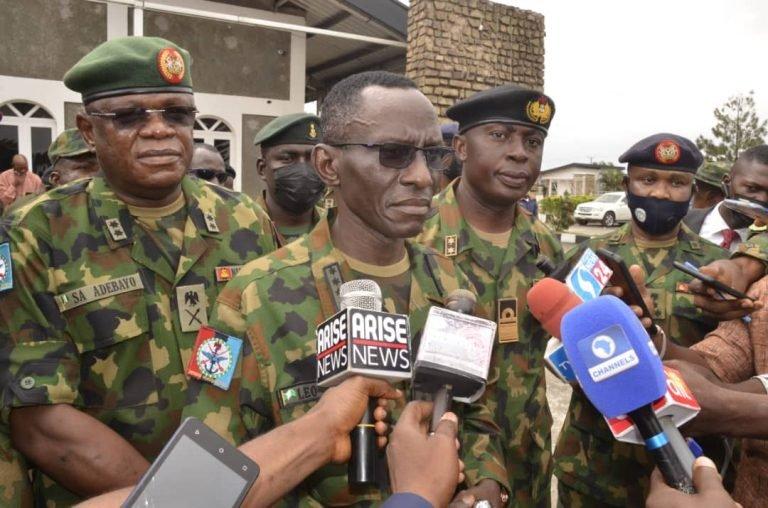 Military Chief Irabor