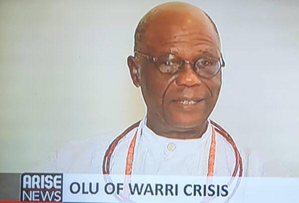 Olu of Warri crisis