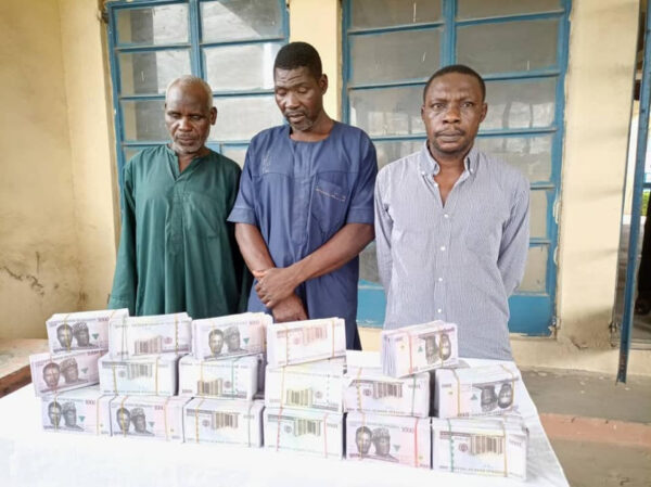 Pastor two others arrested for possession of N15.8m fake currency notes