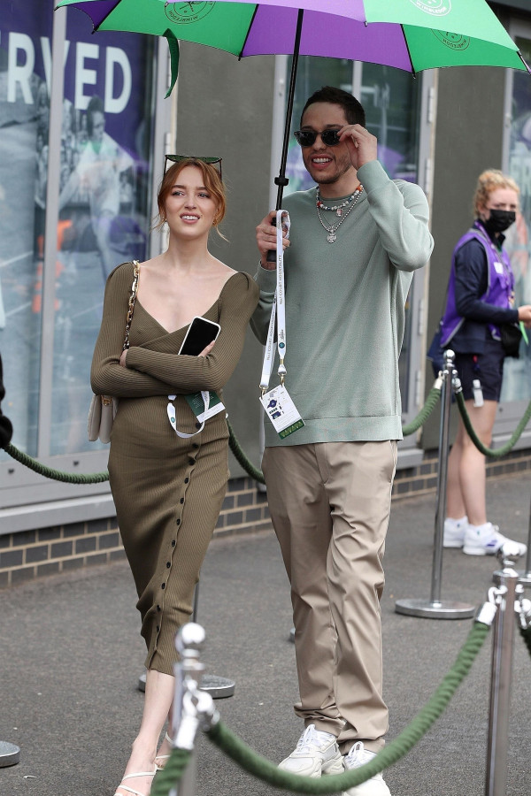 Pete Davidson matches with girlfriend Phoebe Dynevor for Wimbledon date