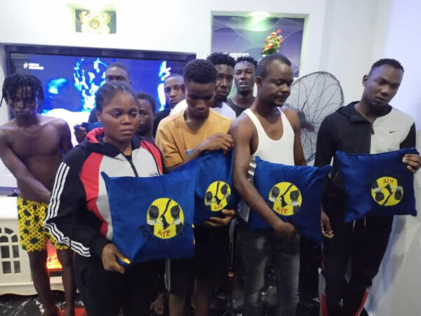 Police arrest 8 suspected members of Black Axe Confraternity cult group in Delta