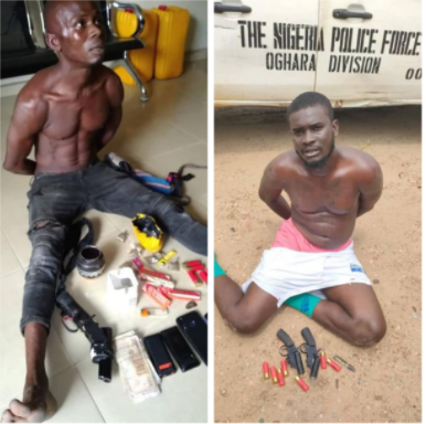 Police arrest notorious kidnapper cultist robbery suspect and two illicit drug dealers in Delta