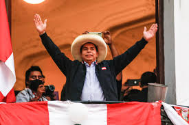 School teacher Pedro Castillo declared Perus new president